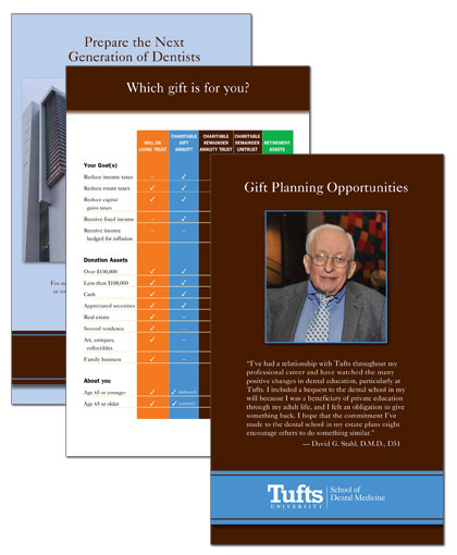 Planned giving bridget snow design for Planned giving brochures templates